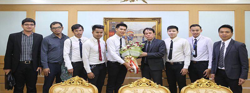 แสดงความยินดีในการดำรงตำแหน่ง รักษาราชการแทนอธิการบดี รศ.ดร.ชูศักดิ์ เอกเพชร