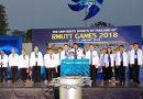 """พิธีเปิดการแข่งขันกีฬามหาวิทยาลัยแห่งประเทศไทยครั้งที่ 45 รอบมหกรรม """"ราชมงคลธัญบุรีเกมส์"""""""
