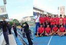 ทีมกรีฑามหาวิทยาลัยราชภัฎสุราษฎร์ธานี ได้รับถ้วยรองพระราชทานชนะเลิศอันดับ 1 จากการแข่งขันกรีฑาชิงแชมป์แห่งประเทศไทยและนานชาติ ครั้งที่ 64 ณ สนามไทยญี่ปุ่นดินแดง