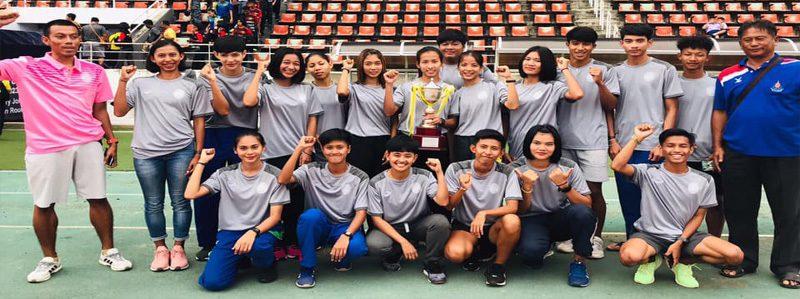 สรุปเหรียญผลการแข่งขันกรีฑาชิงชนะเลิศ  แห่งประเทศไทย ชิงถ้วยพระราชทาน ครั้งที่ 65 ปี 2562